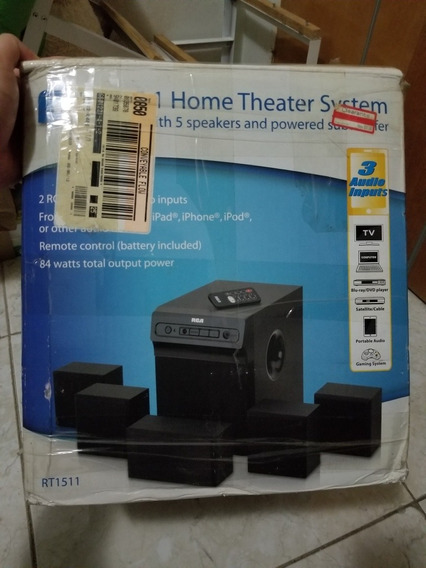 Home Theater Rca Rt1511, Como Nuevo Sin Detalles