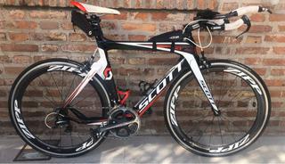 Bicicleta De Carbono Para Triatlón Scott Plasma 10 2017
