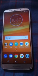 Celular Moto E5 Pluss Dorado Dual 5000mh Dual Sim Libre