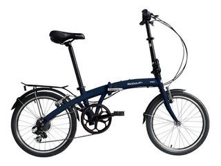 Bicicleta Rio South Way D - Dobrável - Azul Esverdeado