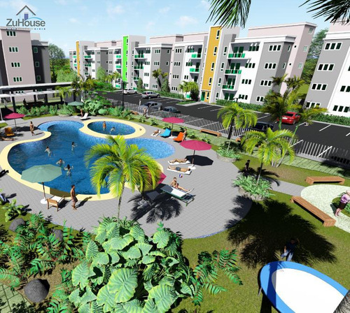 Imagen 1 de 14 de Apartamento 1er Nivel Con Cuarto De Servicio Wpa31 A