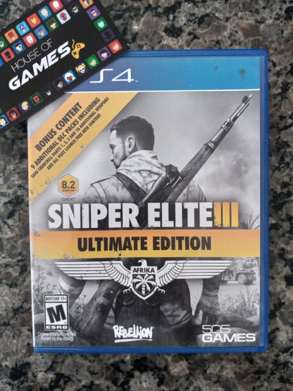Sniper Elite 3 Ps4 Mídia Física Usado
