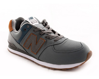 Zapatilla New Balance Gc574be Verde Niño