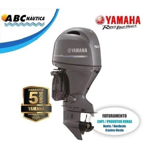 Motor De Popa Yamaha 90hp 4t Leia Anúncio Pronta Entrega