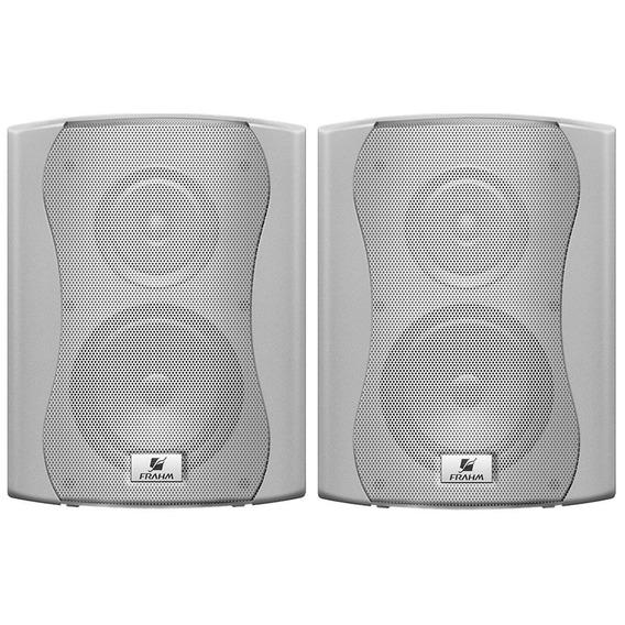 Caixa Acústica C/ 6pol 60w C/ Suporte Ps6 Plus Frahm ( Par )