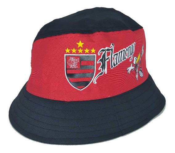 Chapéu Pescador Flamengo Cata Ovo Rubro Negro Carioca Torcedor
