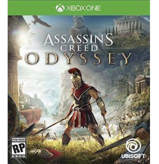 Jogo Game Assassins Creed Odyssey Xbox One Português Lacrado