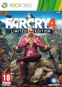 Jogo Far Cry 4 Para Xbox360 Destravado Lt3.0