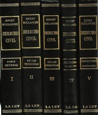 Tratado De Derecho Civil 12 Tomos La Ley Ripert Boulanger
