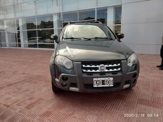 Fiat Strada Adventure 1.6 Verde Oscuro 2011 182.100 Km Roas