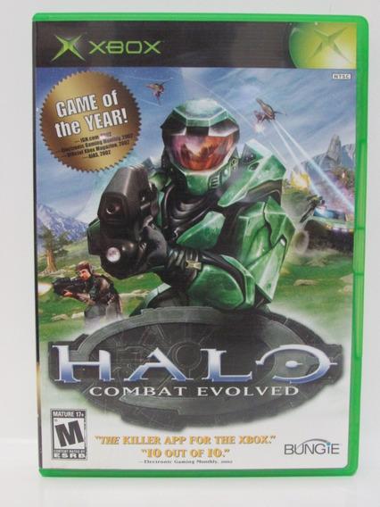Halo Combat Evolved - Game Xbox Clássico Original