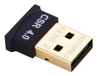 Adaptador Usb Bluetooth 4.0 Dongle P/ Notebook Pc 10 Metros