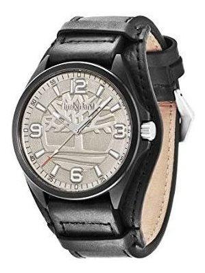 Relógio Timberland Sebbins Masculino Analógico Couro