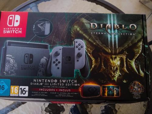 Nintendo Switch 32gb Edición Limitada  Diablo 3