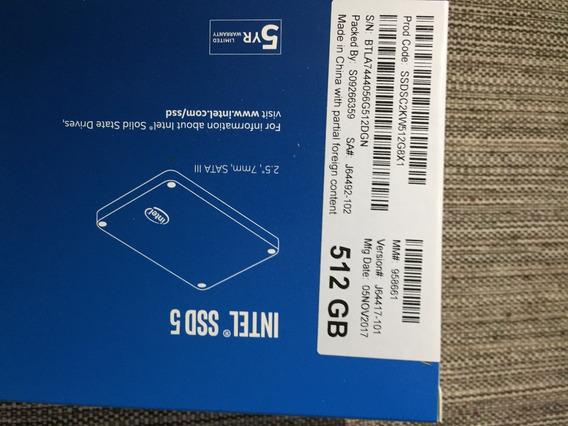 Ssd Intel Ssd 545s 2.5 512gb