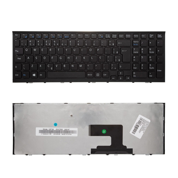Teclado P/ Notebook Sony Vaio 148971011 Hk1 Ç Marca Bringit