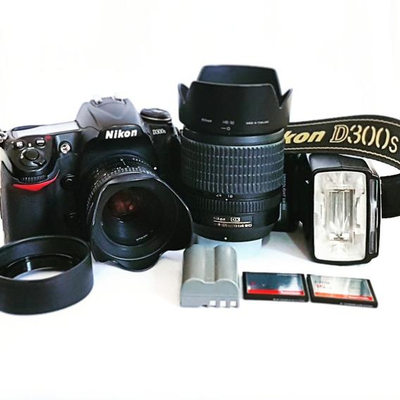 Câmera Fotográfica Nikon D300s (kit Completo)