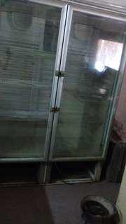 Heladera Exhibidora Doble Puerta Vertical Gafa
