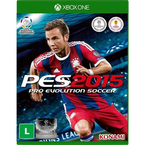 Pes 2015 Xbox One Mídia Física