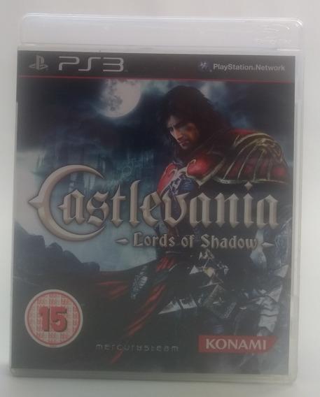Jogo Castlevania Lords Of Shadow Ps3 Midia Fisica