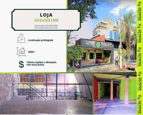 Imagem 1 de 11 de Loja Para Alugar, 600 M² - Savassi - Belo Horizonte/mg - Lo0068