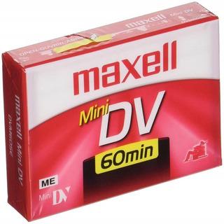 Dv Tape Cassette 60min. Maxell