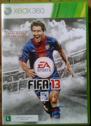 Jogo Fifa 13 Xbox 360 Ntsc Midia Fisica Original