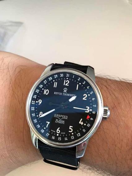Relógio Revue Thommen Airspeed Xl Automático + Pulseira Nato
