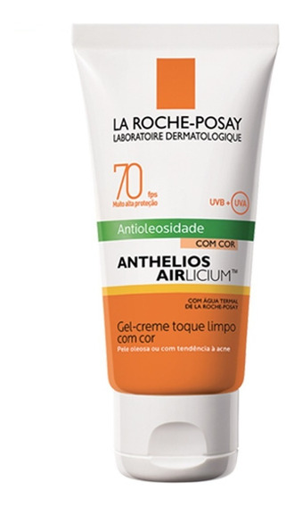 Protetor Solar Facial Com Cor La Roche-posay - Anthelios Airlicium Fps70 Clara