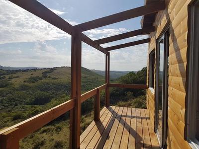 Cabaña Dharma Pueblo Eden A 40 Min Punta Del Este Sierras