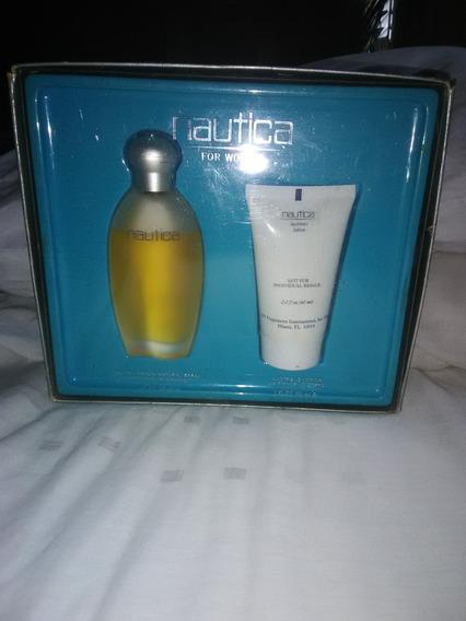 Perfume Nautica De Dama Set