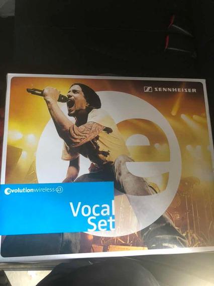 Microfone Sennhiser Sem Fio Modelo Ew 135 G3 Profissional