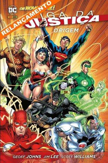 Hq - Liga Da Justiça - A Origem