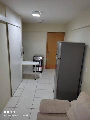 Apartamento Com 1 Dormitório Para Alugar, 37 M² Por R$ 1.300,00/mês - Jardim Infante Dom Henrique - Bauru/sp - Ap3129