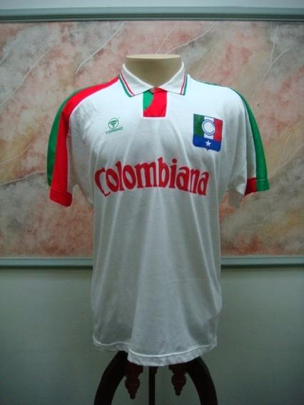 Camisa Futebol Once Caldas Colombia Torino Jogo Antiga 1718
