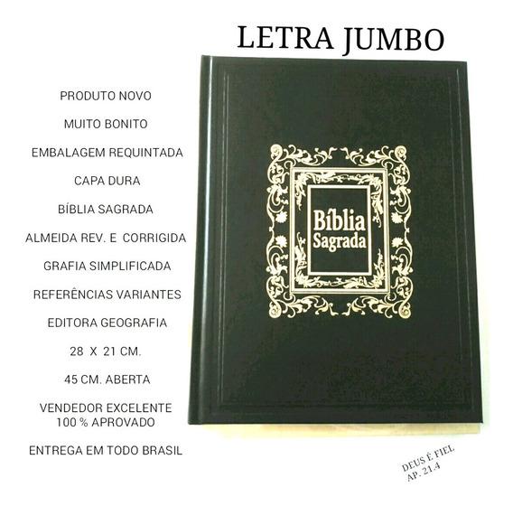 Biblia Letra Jumbo * Para Presente * Capa Dura