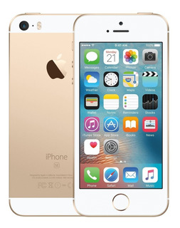 iPhone Se 32gb Desbloqueado Dourado Apple Nf Garantia