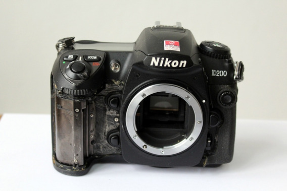 Câmera Digital Dslr Nikon D200 Sucata Para Retirada De Peças