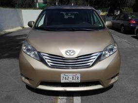 Toyota Sienna 2011 5p Xle Aut Piel Limited Q/c Dvd