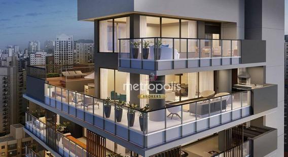 Cobertura Com 4 Dormitórios À Venda, 388 M² Por R$ 9.284.620 - Vila Nova Conceição - São Paulo/sp - Co0192