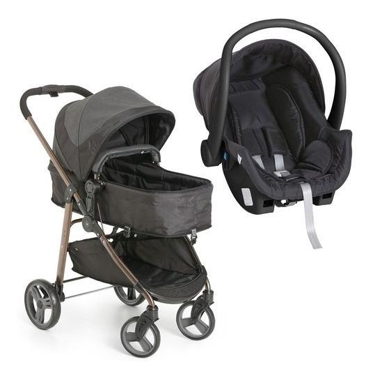 Carrinho Bebê Galzerano Olympus Moisés E Bebê Conforto