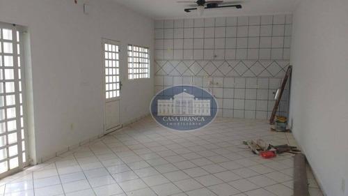 Imagem 1 de 17 de Casa Residencial À Venda, Amizade, Araçatuba. - Ca0634