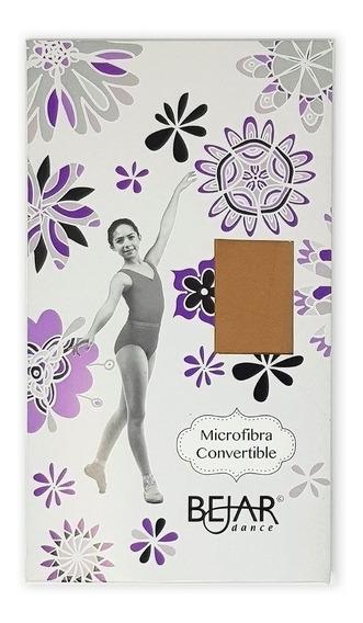 Andanzza Mallas Para Ballet Microfibra Convertible Para Niña