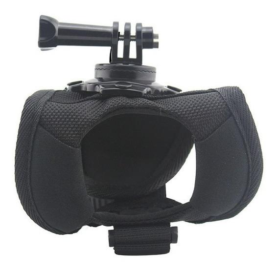 Suporte Luva 360º Wrist Suporte De Mão Para Câmeras De Ação