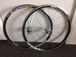 Roda Montada Aro 24 Aero Raio Fino Mtb Bike Par Dian/tra C/m