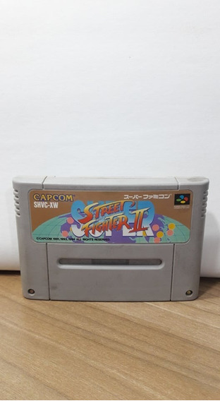 Super Street Fighter 2 Super Famicom Original
