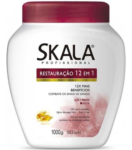 Skala Crema Tratamiento Restauración 12 En 1 Acondicionador