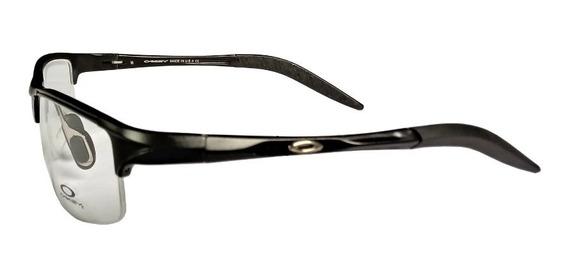 Armação De Óculos Esportiva P/ Lentes De Grau