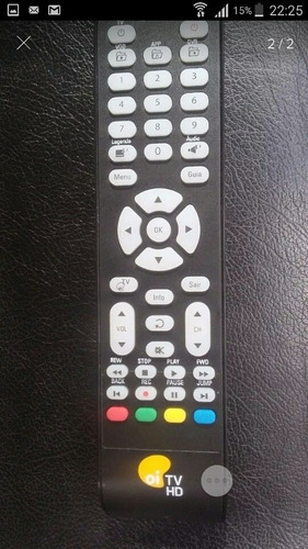 Controle Oi Tv Elsys Original (amazonas)(ses6) 3 Unidades