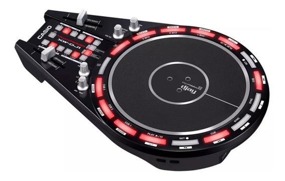 Controlador Dj Casio Trackformer 2 Canais C/ Disco Xwdj1 Usb